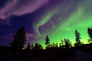 Aurora in the Nunavut area