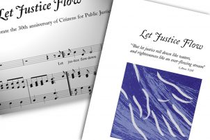 Let Justice Flow Collage
